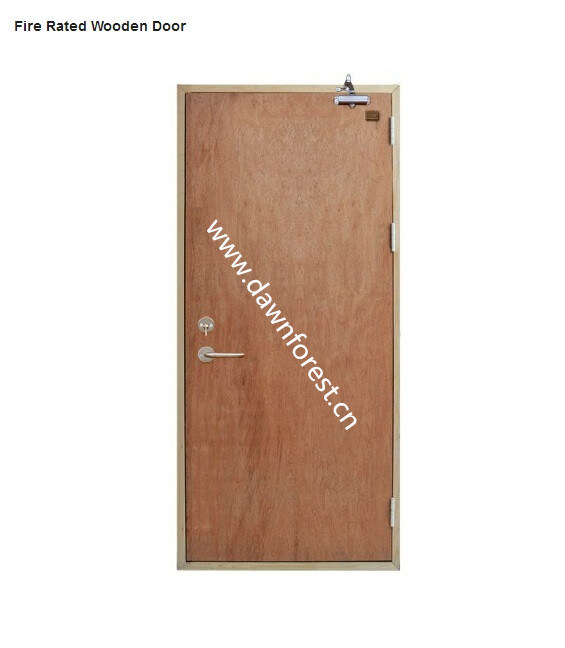 Fire Rated Wooden Door Plywood Door