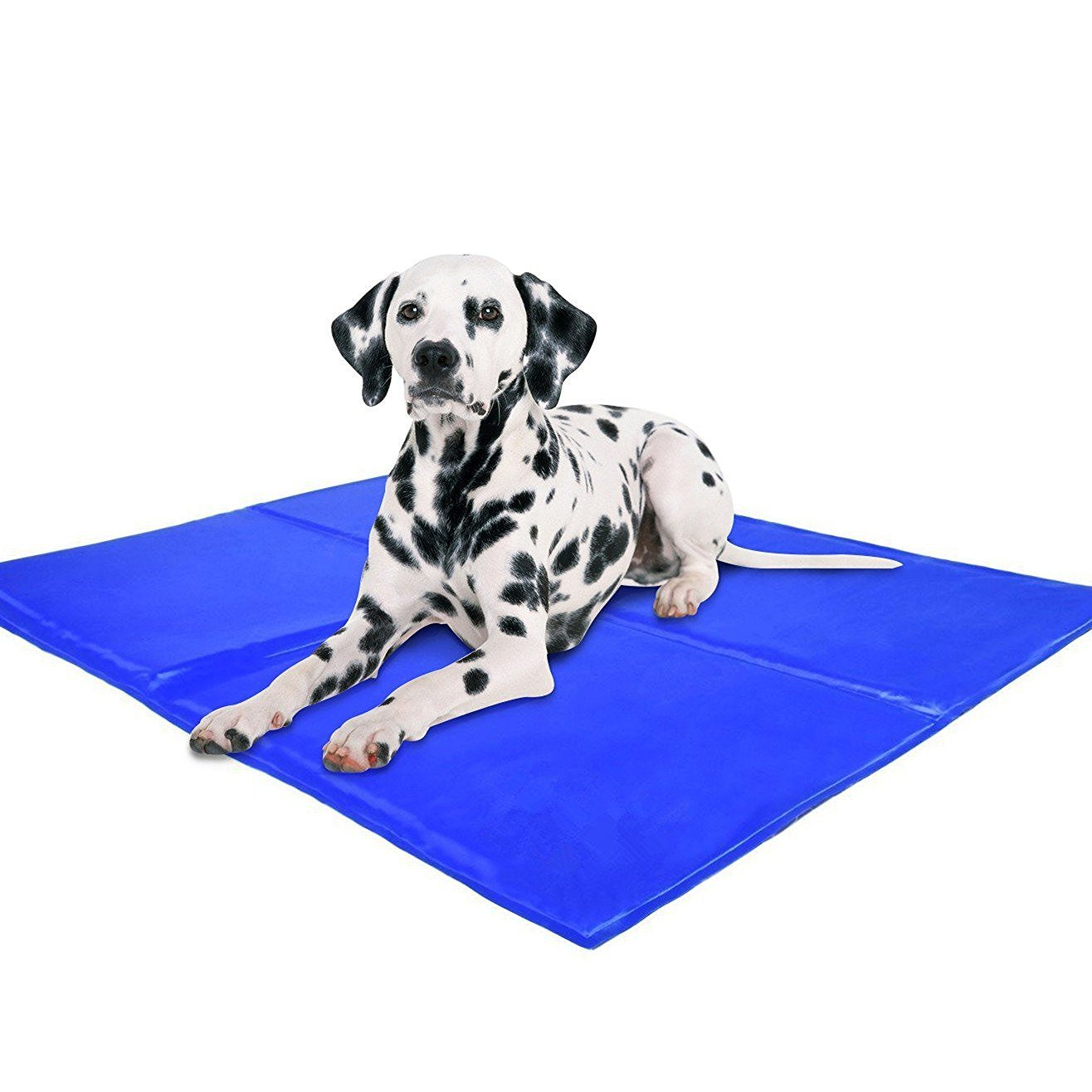 Pet Cooling Mat - Soft Gel Comfort for Dogs. Durable, Safe, Non-Toxic & Easy to Clean. Large Size (140*90cm)