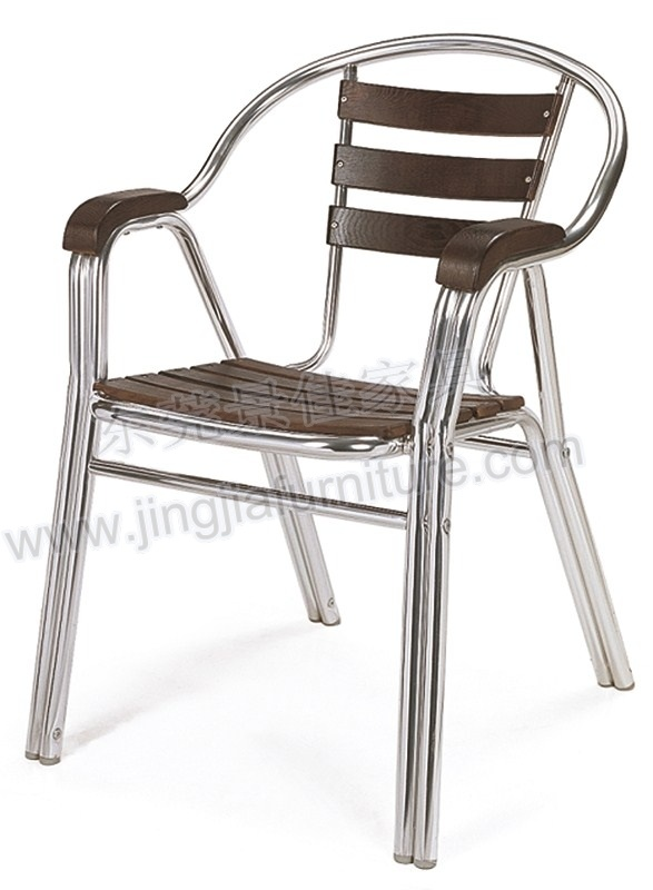 China Outdoor Patio Sling Stacking Chair CTS112