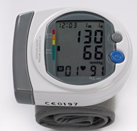 Digital Blood Pressure Monitor Sphygmomanometer (Hz-791)