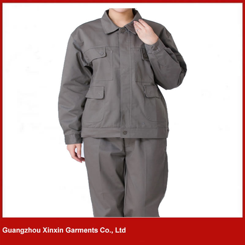 Customized Good Quality Men Women Working Coverall Supplier (W244)