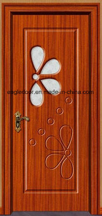 Economical Interior Wooden Rounded MDF PVC Door (EI-P083)