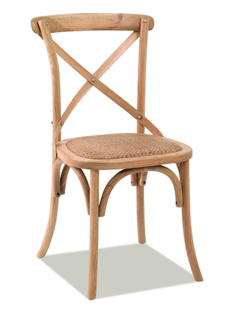 X-Back Natural Dining Chairs