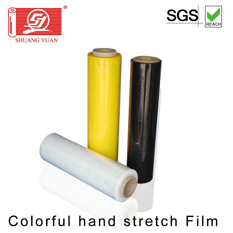 Shenzhen Factory 100% New Raw Materials LLDPE Pallet Wrap Film