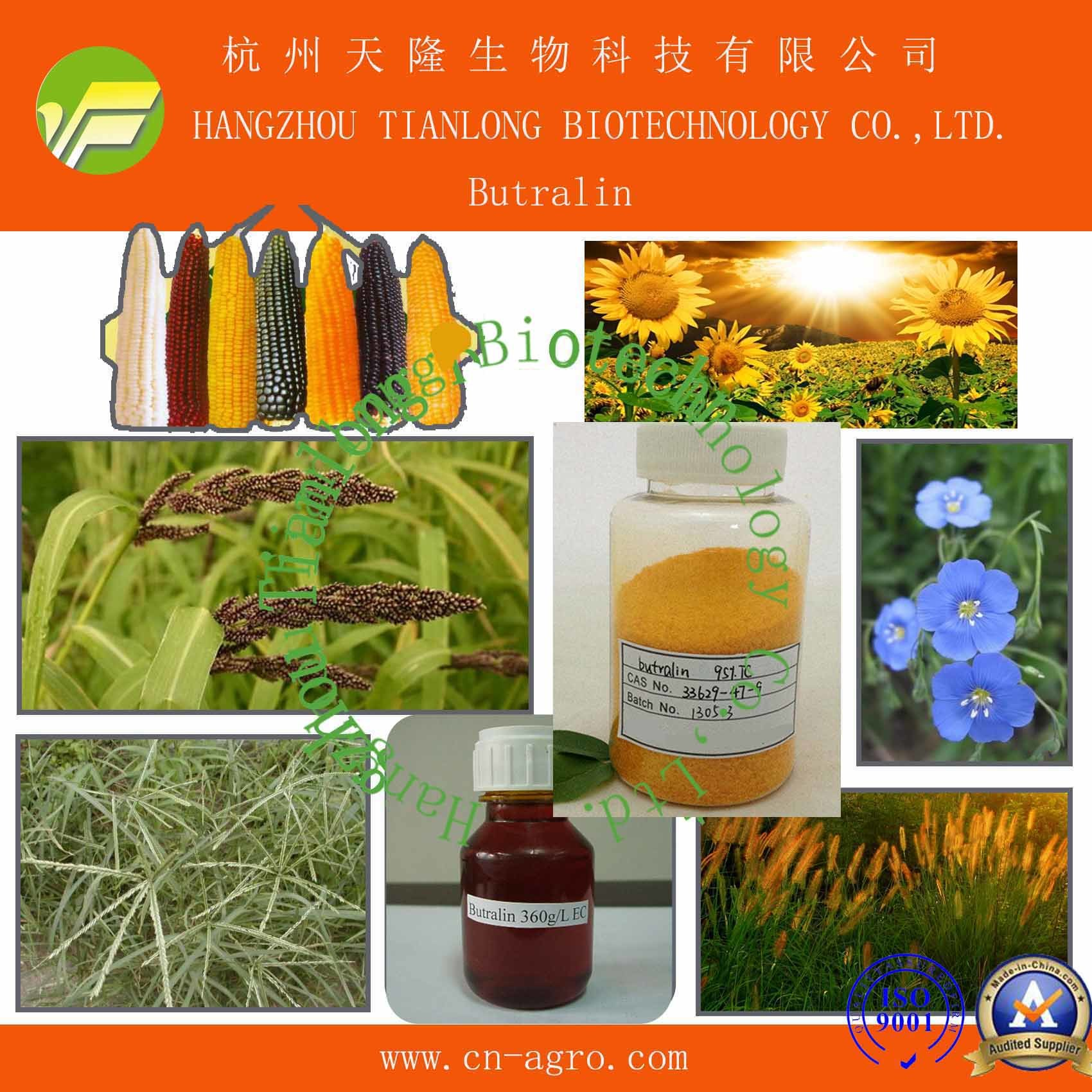 Price Preferential Herbicide Butralin (95% TC, 36%EC, 48%EC)