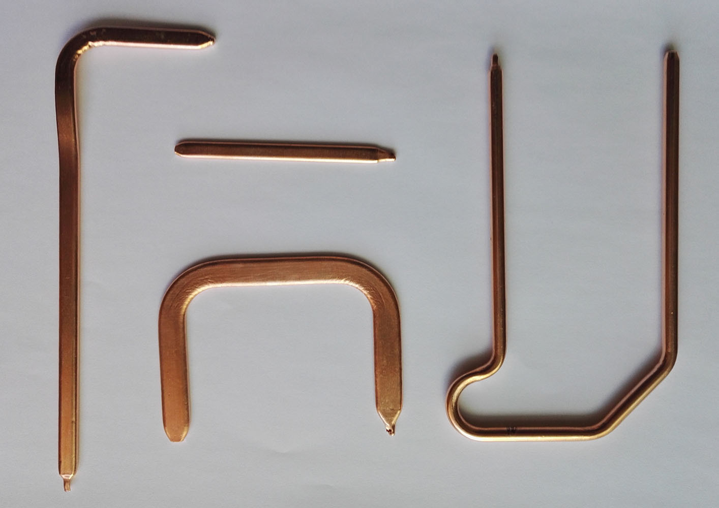 Sintered LED Hentsink Copper Heatpipe