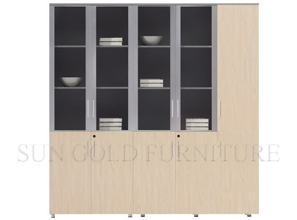 Melamine Office Wooden File Cabinet (SZ-FC65)
