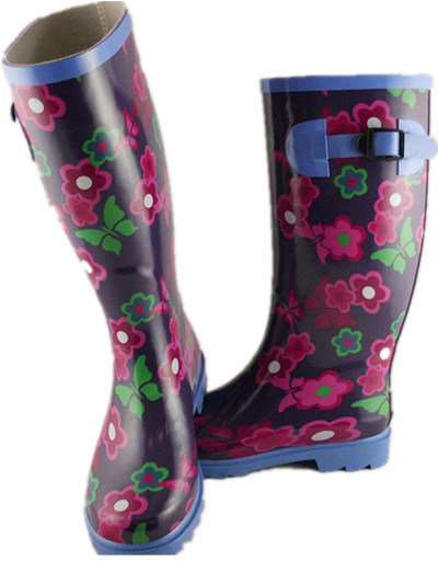 Ladies'rubber Boot (W-2012012)