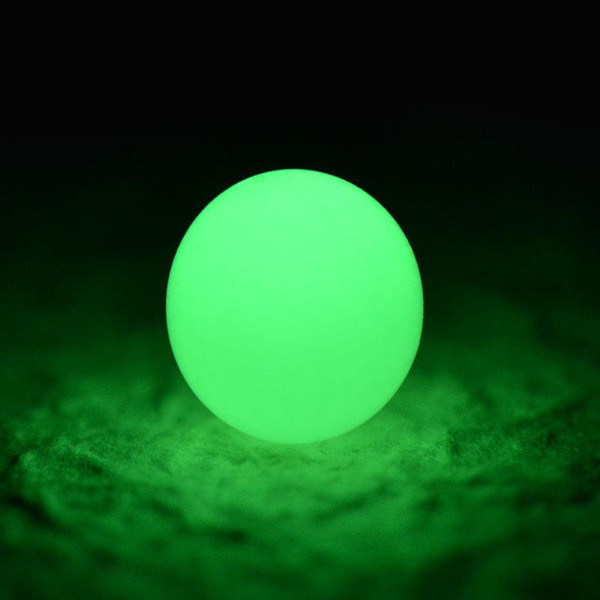 Green Color Glow in The Dark Pebble Stone