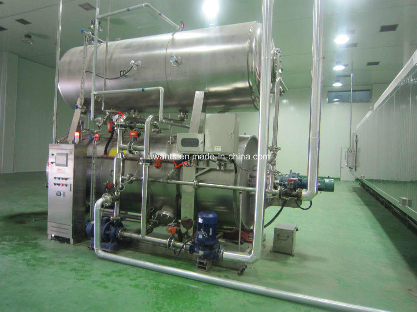 Full Automatic Rotary Autoclave for Porridge