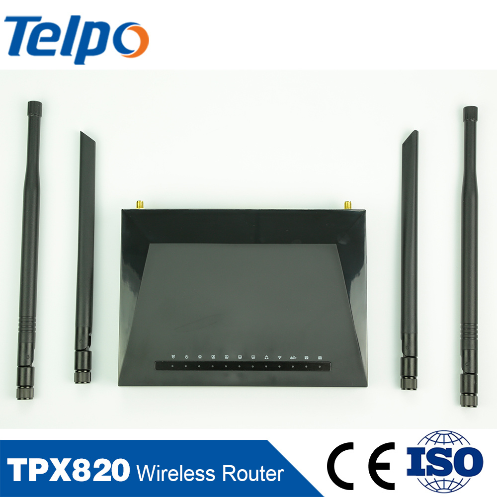 China OEM Manufacturer Wireline/Wireless 192.168.1.1 Wireless Eoc WiFi Router