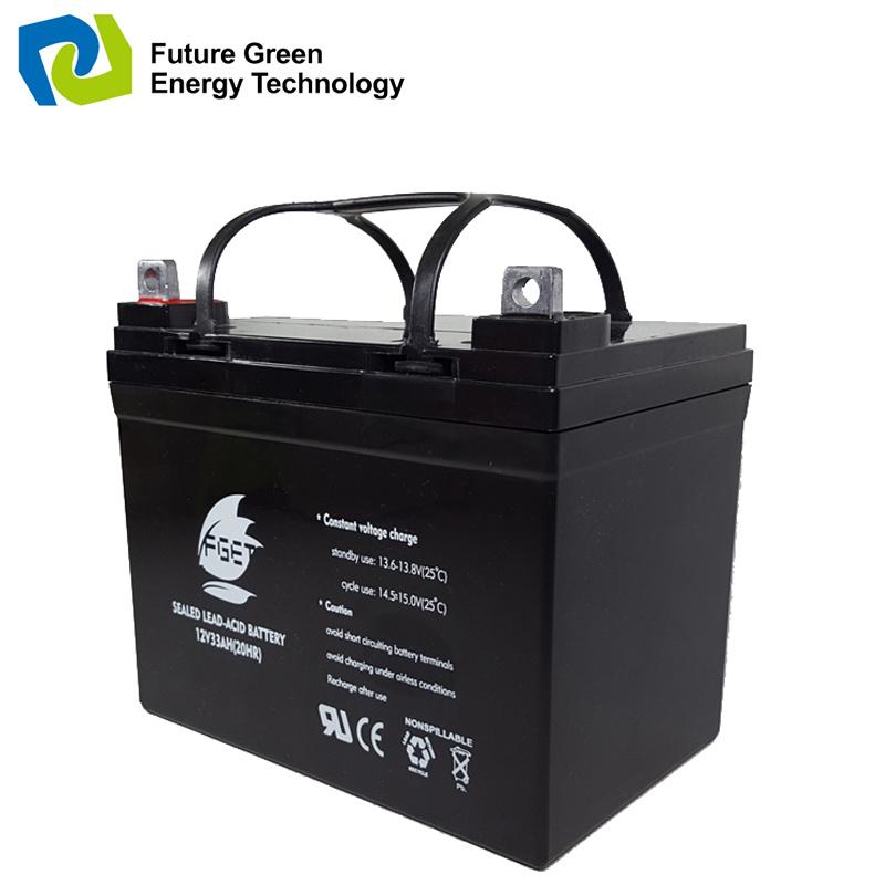 Maintenance Free Deep Cycle VRLA Battery for E Bike/Motorcycle