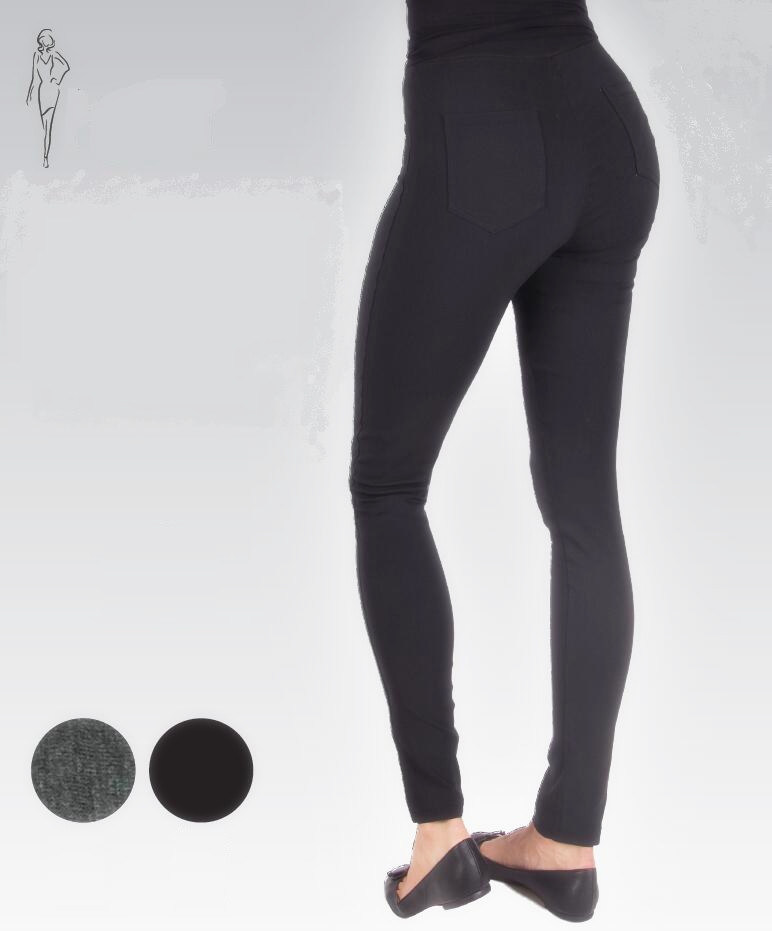 2017 Women′s Legging Make of 65%Viscose 30%Polyamide 5%Elastane Roma Fabric
