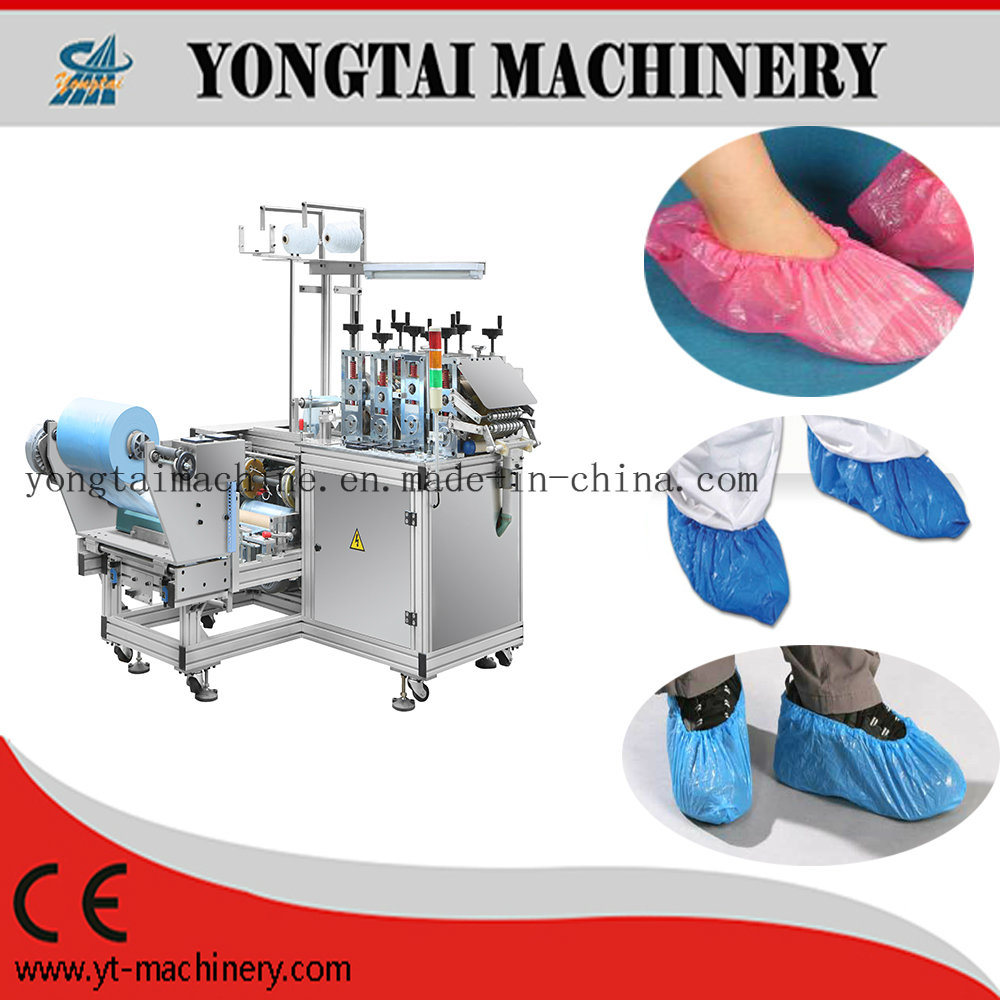High Speed Automatic Plastic Disposable Shoe Cover Machine
