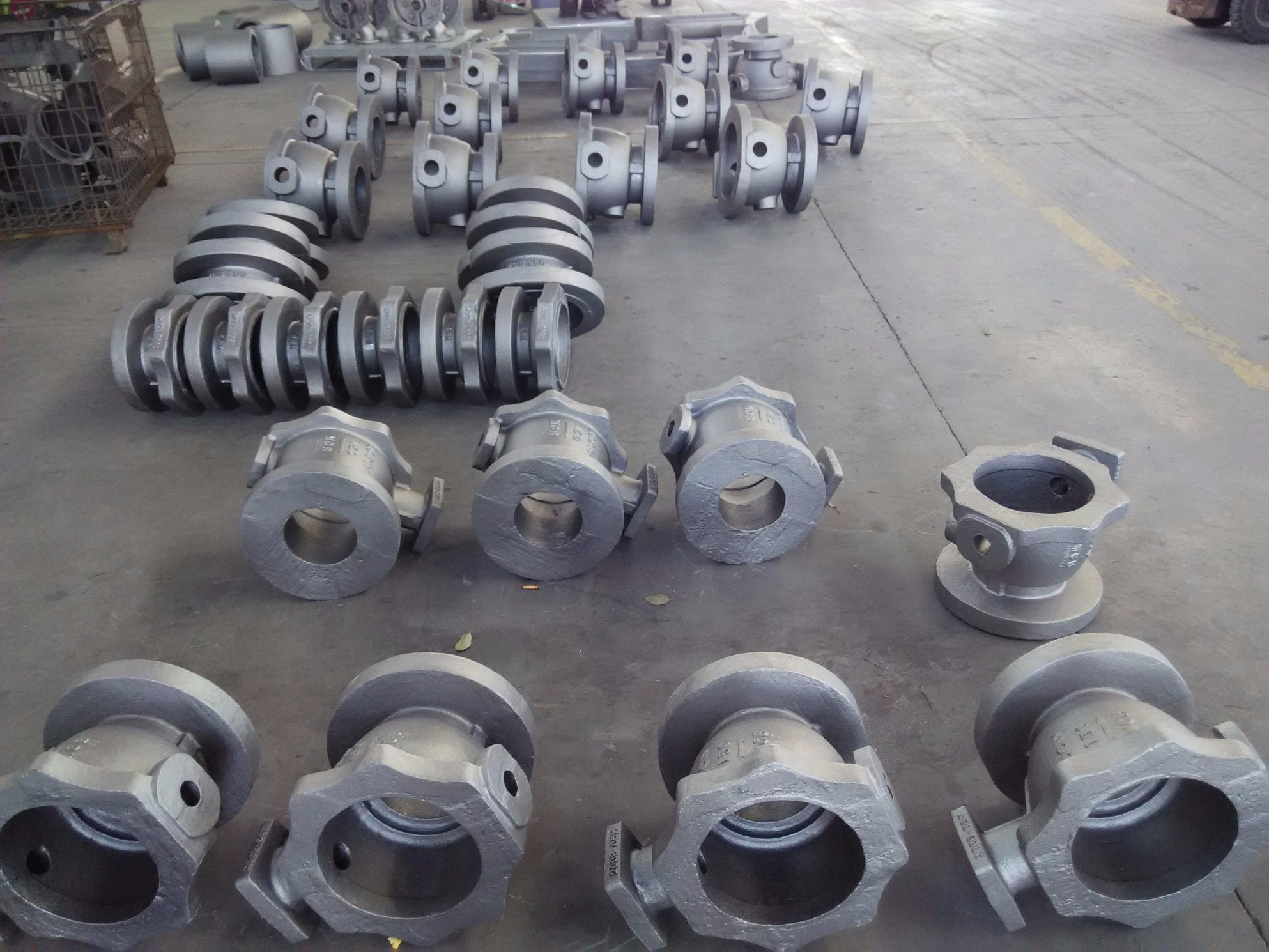 Ball Valve Body Parts Body Bonnet Casting Carbon Steel Casting