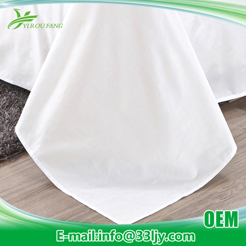 Manufacturer Cheap Cotton Bedding Set for Hotel Apartment