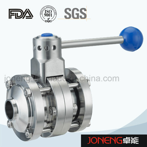 Stainless Steel Manual Sanitary Butterfly Valve (JN-BV1002)