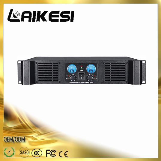 Mx1600 Power Amplifier with 600W Stable at 2 Ohms