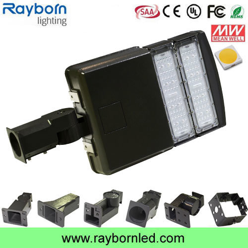 100W Slip Bracket LED Area Shoebox Light for Parking Lot