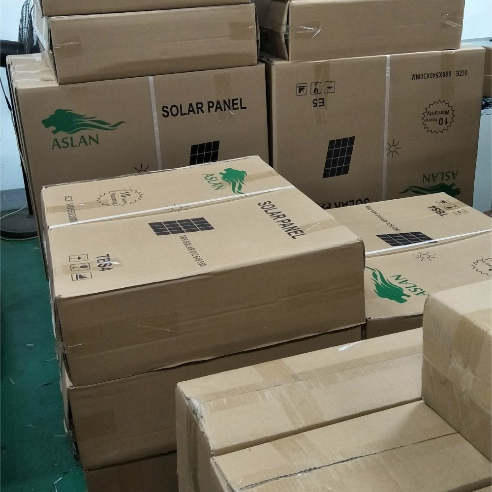 60W Mono PV Solar Panel for Solar Lamp Solar Home System