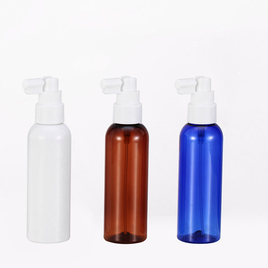 120ml Pet Plastic Bottle with Pump Spray