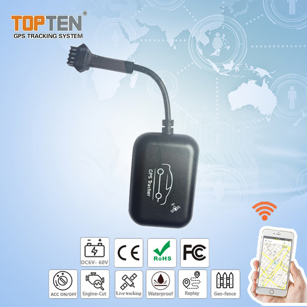 Car GPS Tracker with Engine on/off Status Detection Stop Engine (MT05-J)