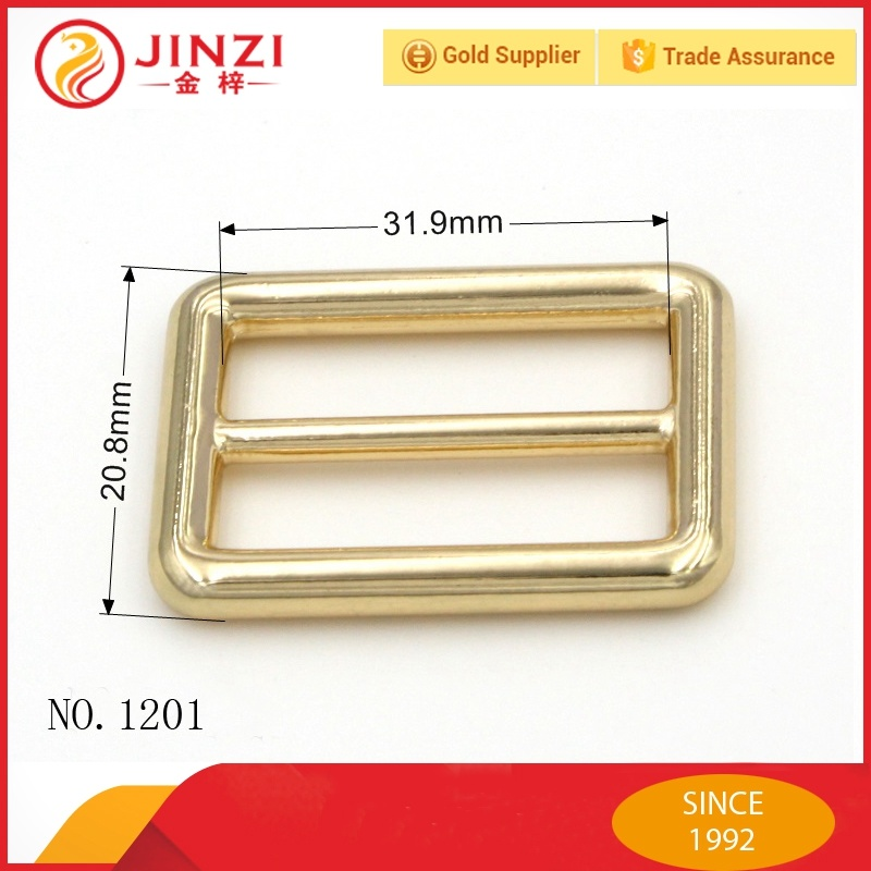 High Quality Handbags Square Belt Buckles Parts for Bags Decoration