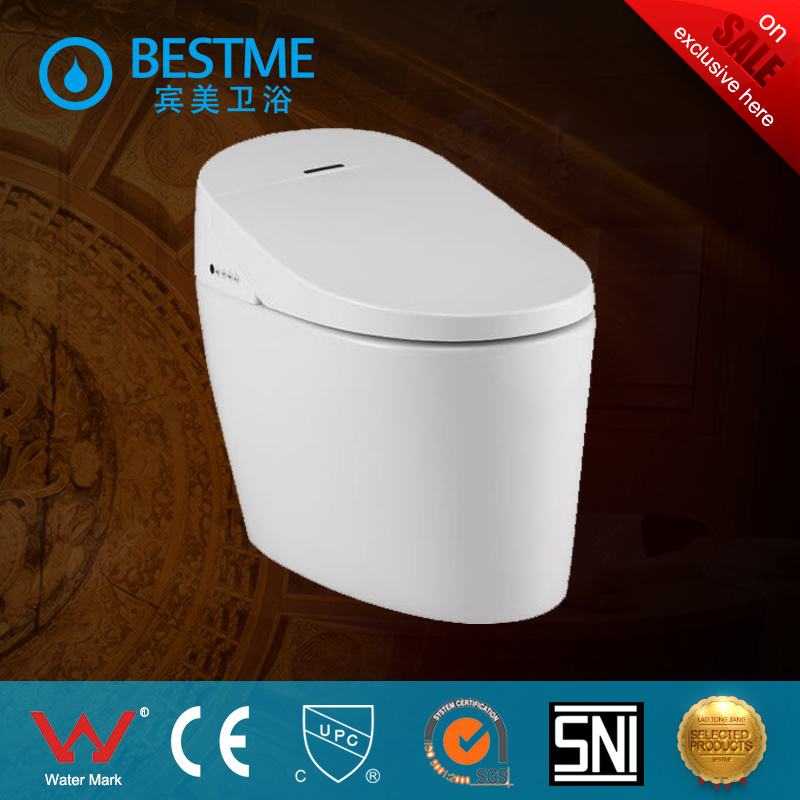 Manufacturer Smart Ceramic Toilet with Auto Control System