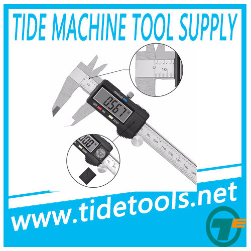 "High Quality Popular Inch Metric 6"" 150mm Digital Caliper 75/100/150/200/300mm"