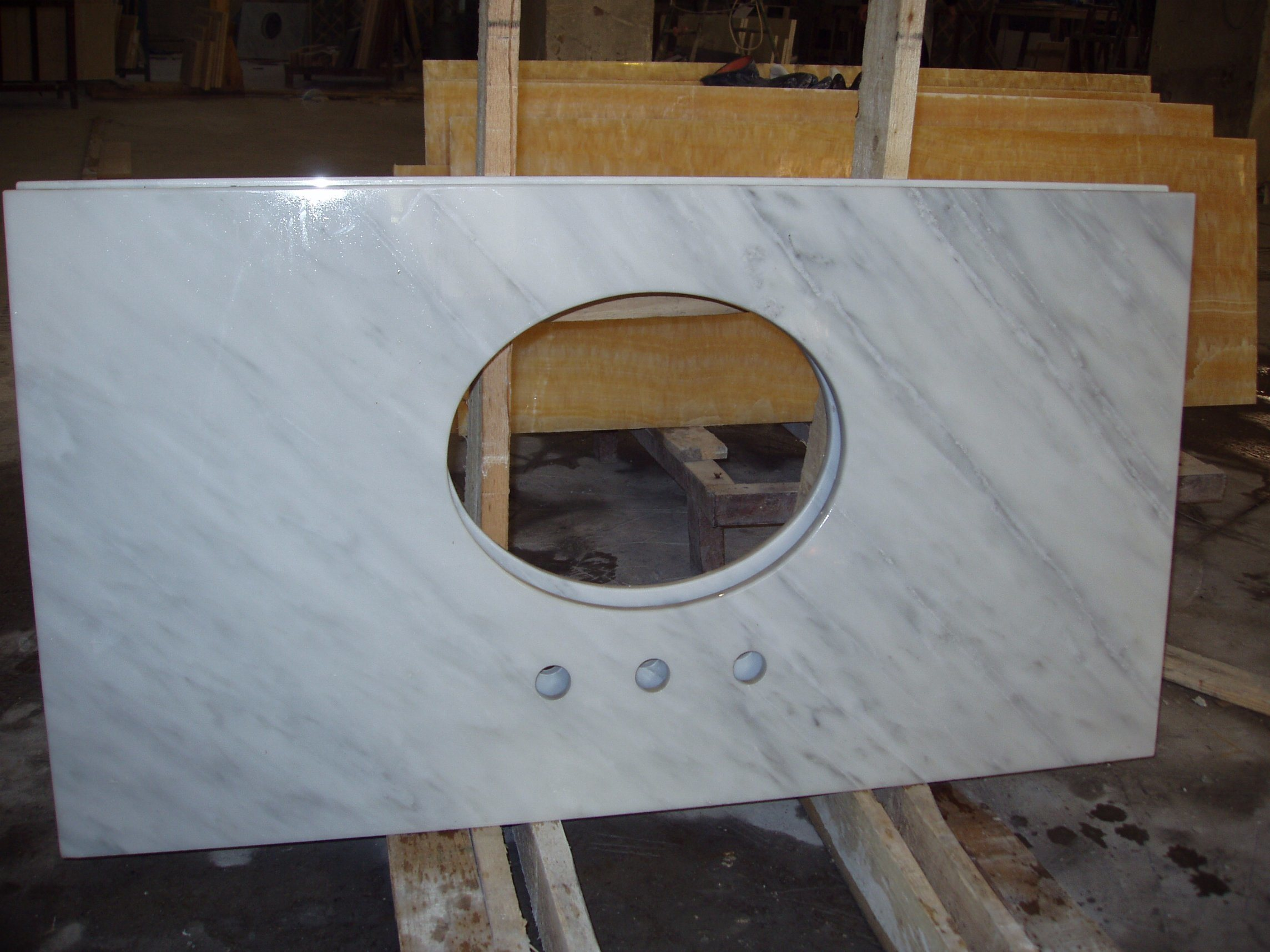 Granite, Marble, Quartz Stone Vanity Top and Kitchen Countertop (G682, G617, G664, G603