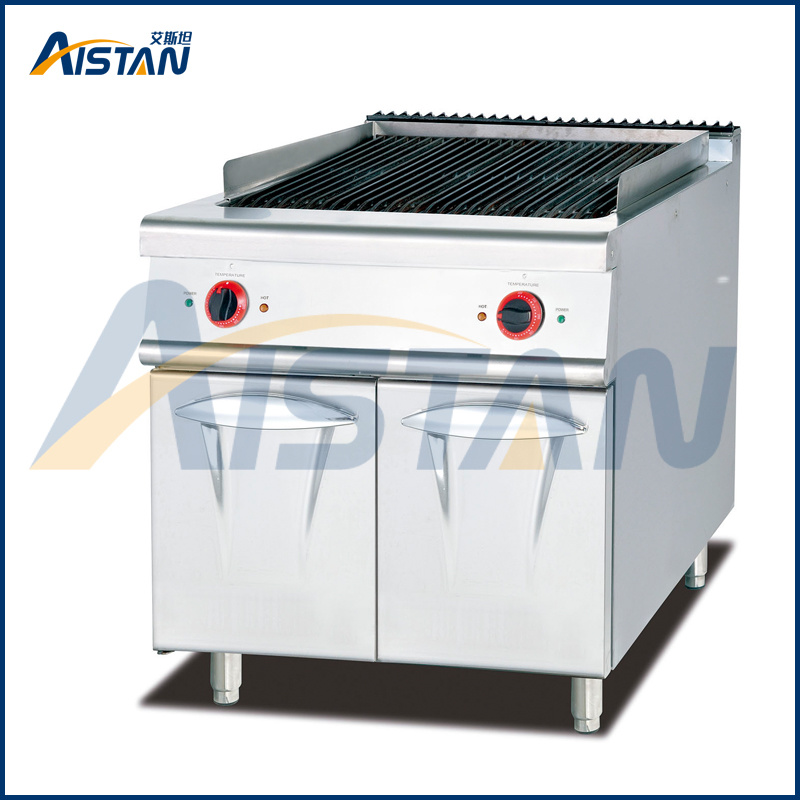 Eh789 Electric Grill with Cabinet of Catering Equipment