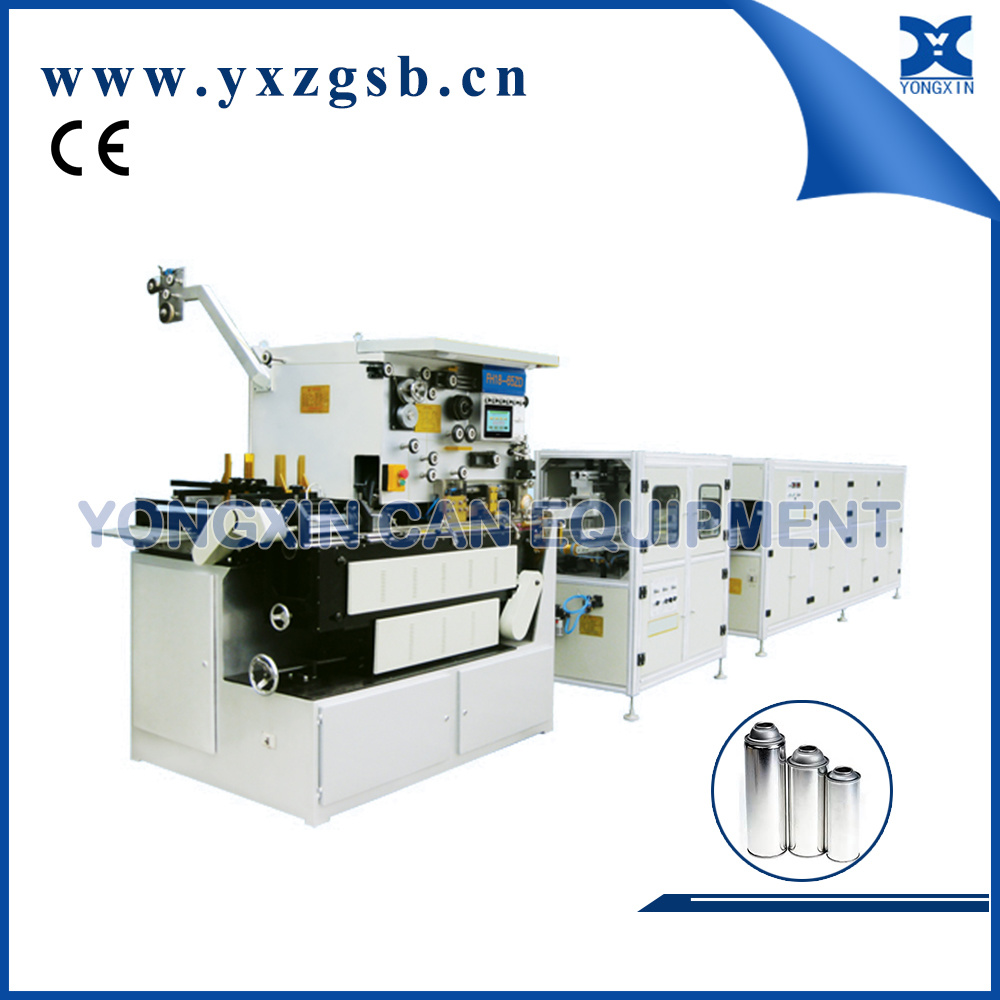 Automatic Tinplate Aerosol Can Body Assembly Line