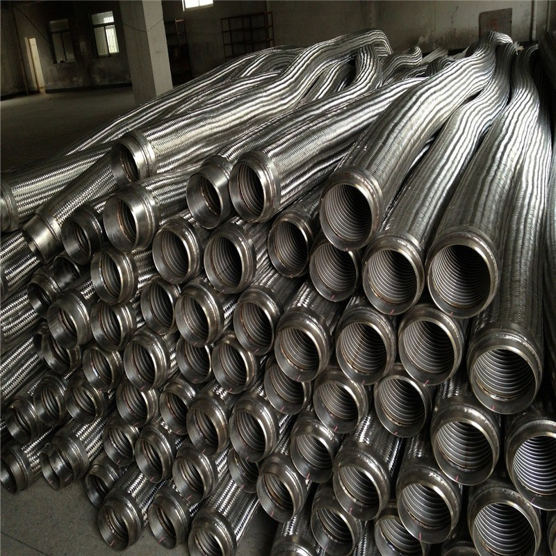 Stainless Steel Braided Flexible Metallic Hose