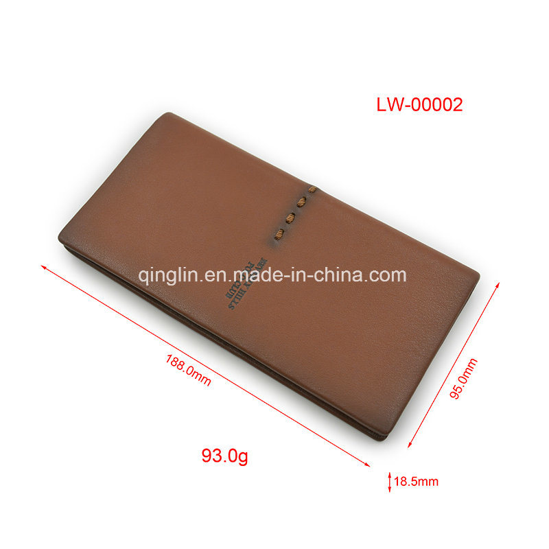Promotional High Quality Genuine Leather Men′s Wallet