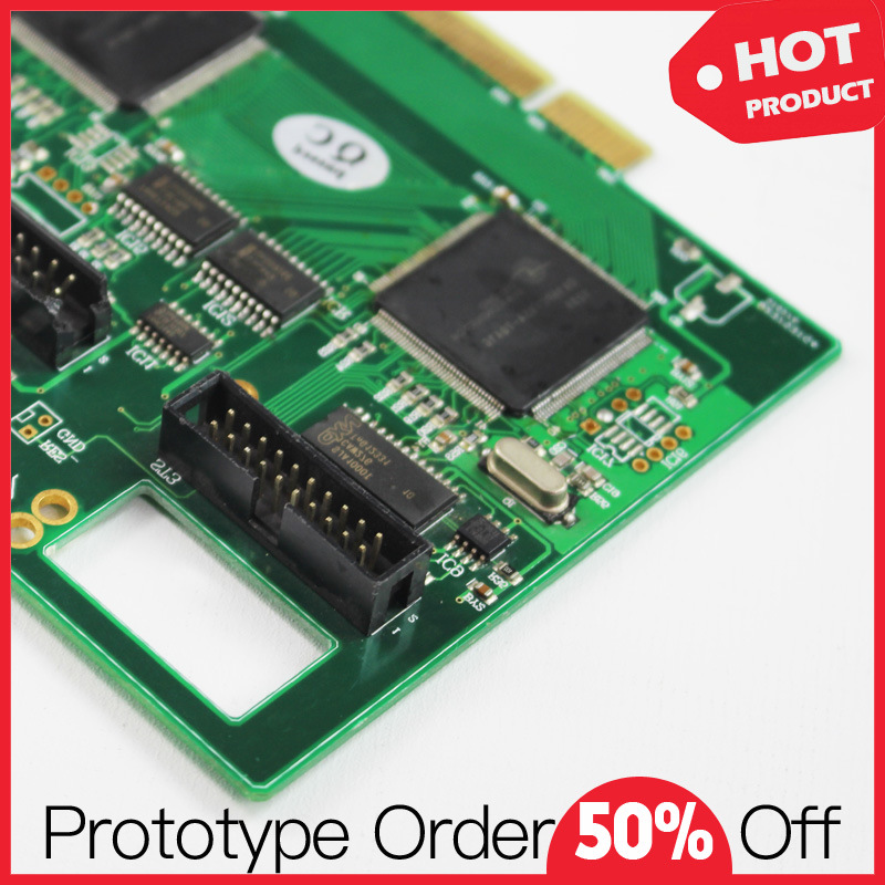 Quick Turn 100% Reliable Custom PCB with Assembly Services