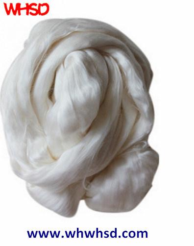100% Natural White Roving Silk Fiber