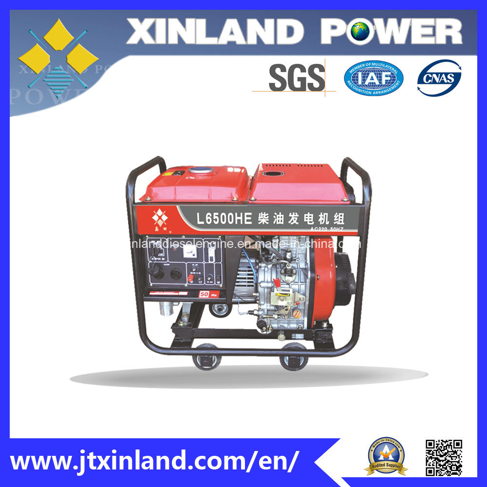 Open-Frame Diesel Generator L7500h/E 60Hz with ISO 14001