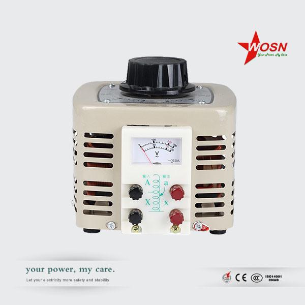 Tdgc/Tdgc2 3000va 220V Input 0-250V Output Manual Contact Voltage Regulator Variac