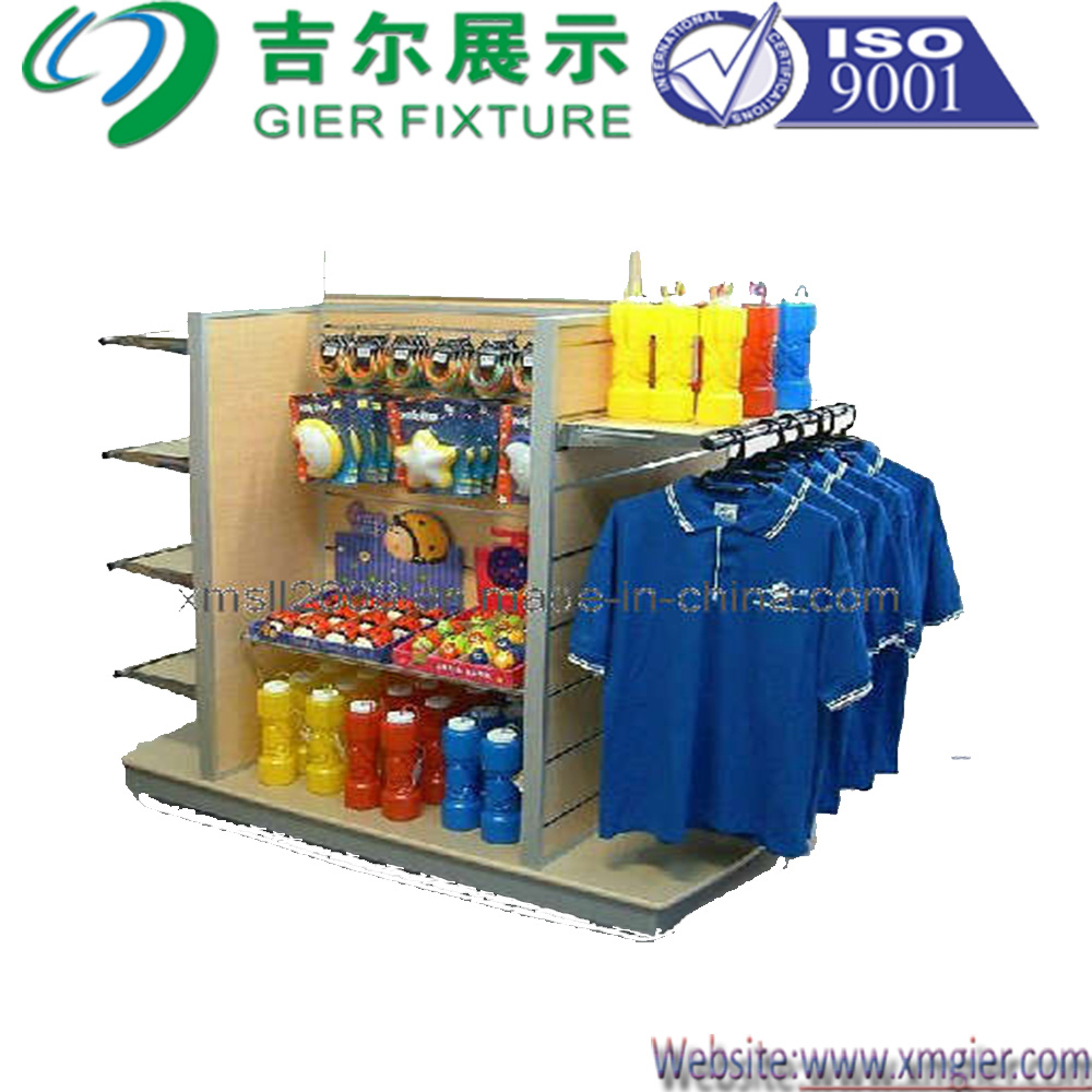 Wooden Clothes Display Rack (GDS-047)