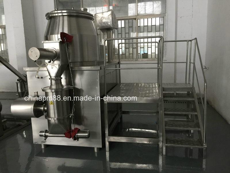 High Shear Mixing Granulator PLC Control