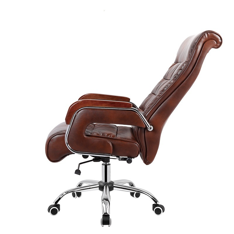Comfortable Soft Boss Chair Executive Swivel Leather Office Chair