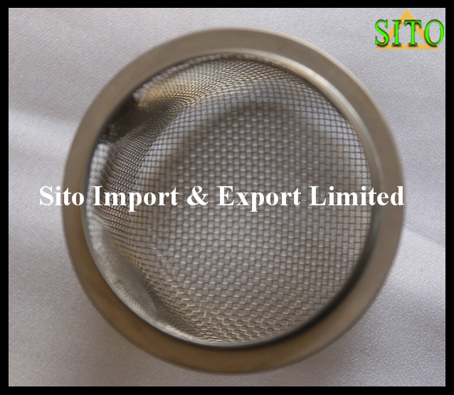 304/316 Stainless Steel Woven Wire Mesh Strainer
