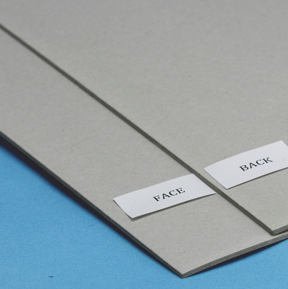 Grey Book Binding Chip Board