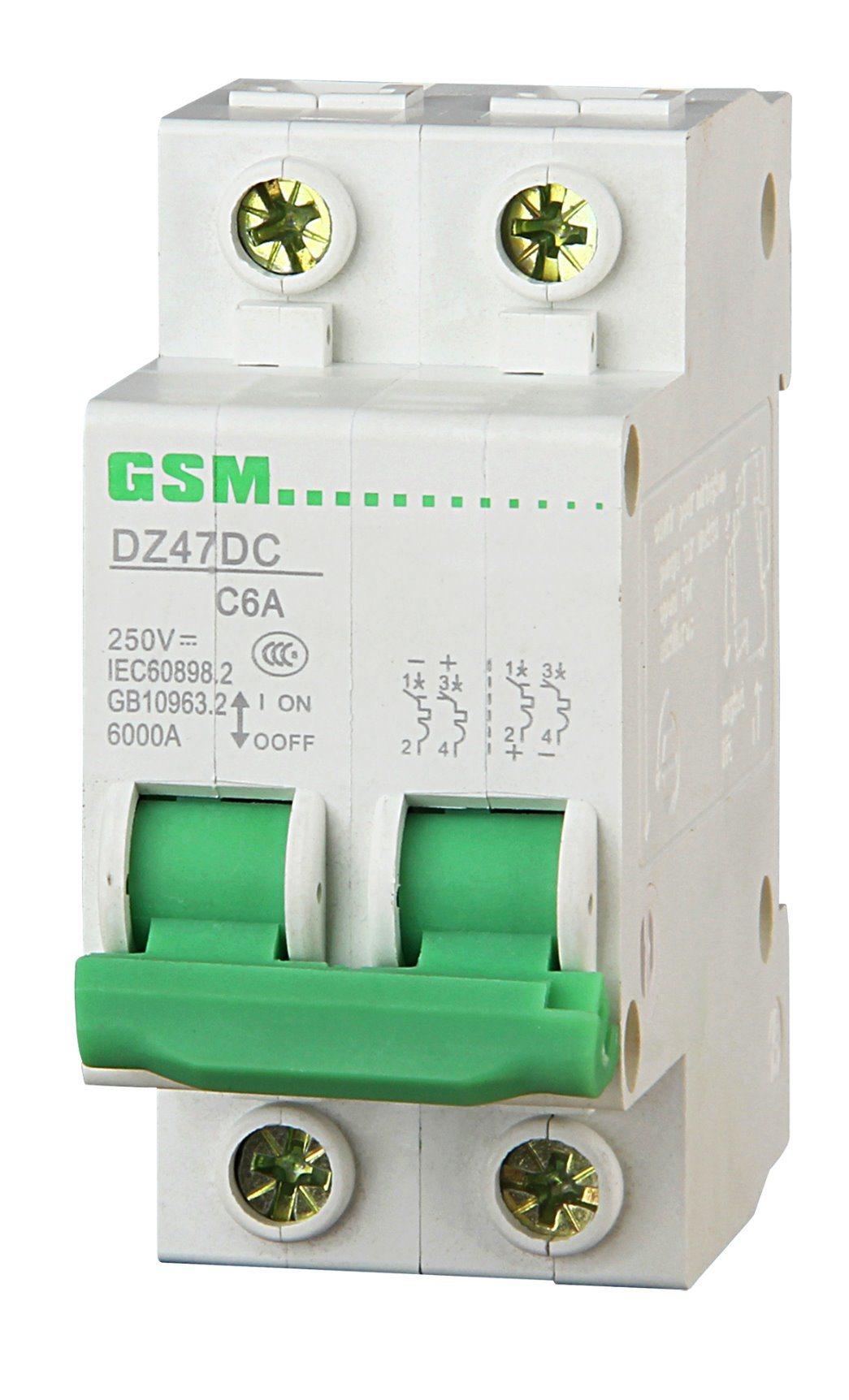 Miniature Circuit Breaker, Circuit Breaker, MCB, RCCB, RCD, RCBO GS47, C45n-63 3p