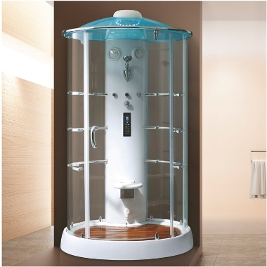 Complete Sauna Steam Shower Room with Black Board and Glass (K9750)