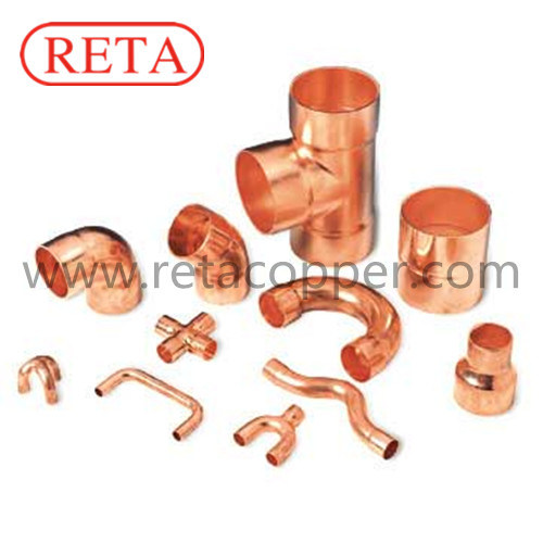 ACR Copper Pipe Fitting with All Sizes