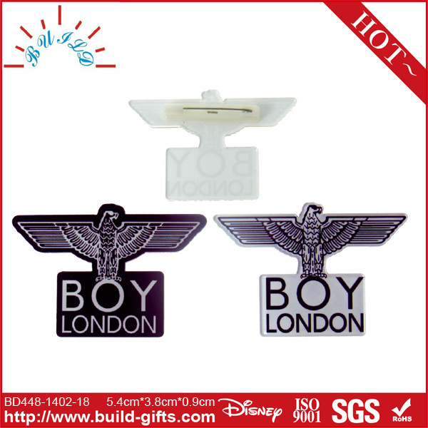 Custom Metal Brass Airline Pilot Wing Badge-Antique Gold and Silver