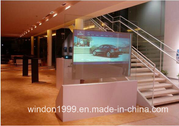 92% Transmittance 3D Holographic Rear Projection Film Holo Window Film