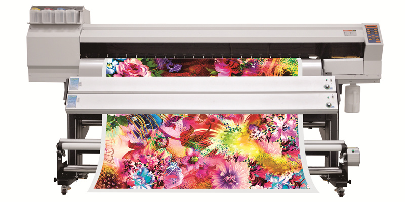 Fd1932 with 2 Epson5113 Sublimation Printer for Polyester Printing
