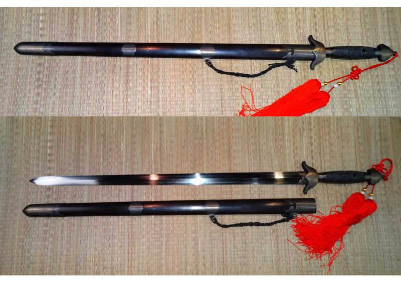 Blackened Cutting Jian/Double Edge Sword/Tai Chi Sword